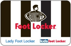 Foot Locker $15 Gift Card