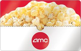 AMC Theaters $15 Gift Card