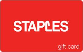 Staples $10 Gift Card