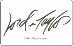 Lord & Taylor  $25 Gift Card