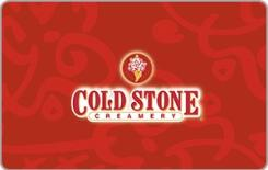 Cold Stone Creamery $10 Gift Card