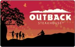 Outback Steakhouse $25 Gift Card