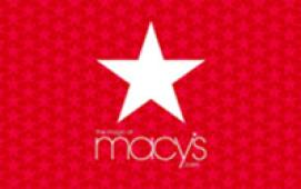 Macy's $25 eGift Card