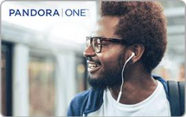 Pandora ONE eGift card $60