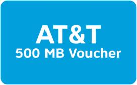 AT&T Mobile Data Rewards - 500 MB