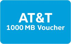 AT&T Mobile Data Rewards - 1000 MB
