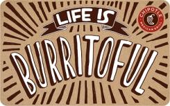 Chipotle $15 Gift Card