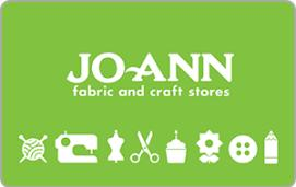 JoAnn Fabric and Craft Stores $10 Gift Card