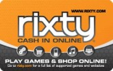 Rixty Online Entertainment eGift Card - $5