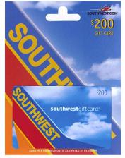 $200 Southwest Gift Card