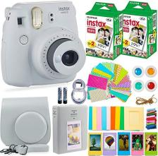 Fujifilm Instax Mini 9 Instant Camera Bundle